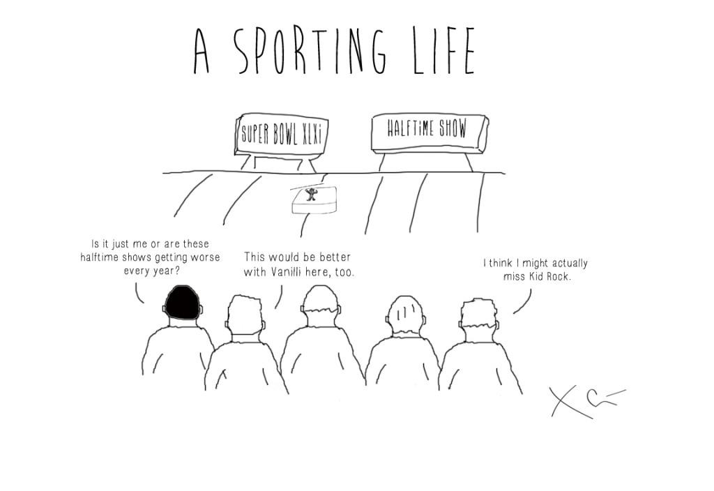 Super Bowl Halftime Show A Sporting Life