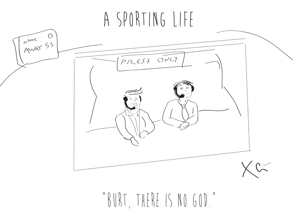 A Sporting Life: Pressbox