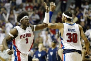 Ben Wallace Rasheed Wallace