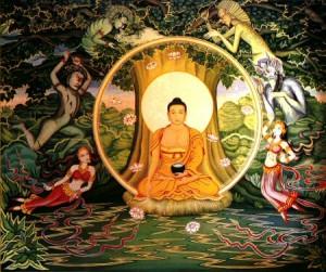Gautama Buddha baseball