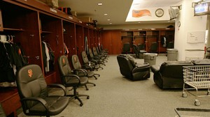 baseball clubhouse